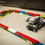 Lego Mindstorm mosso con la concentrazione