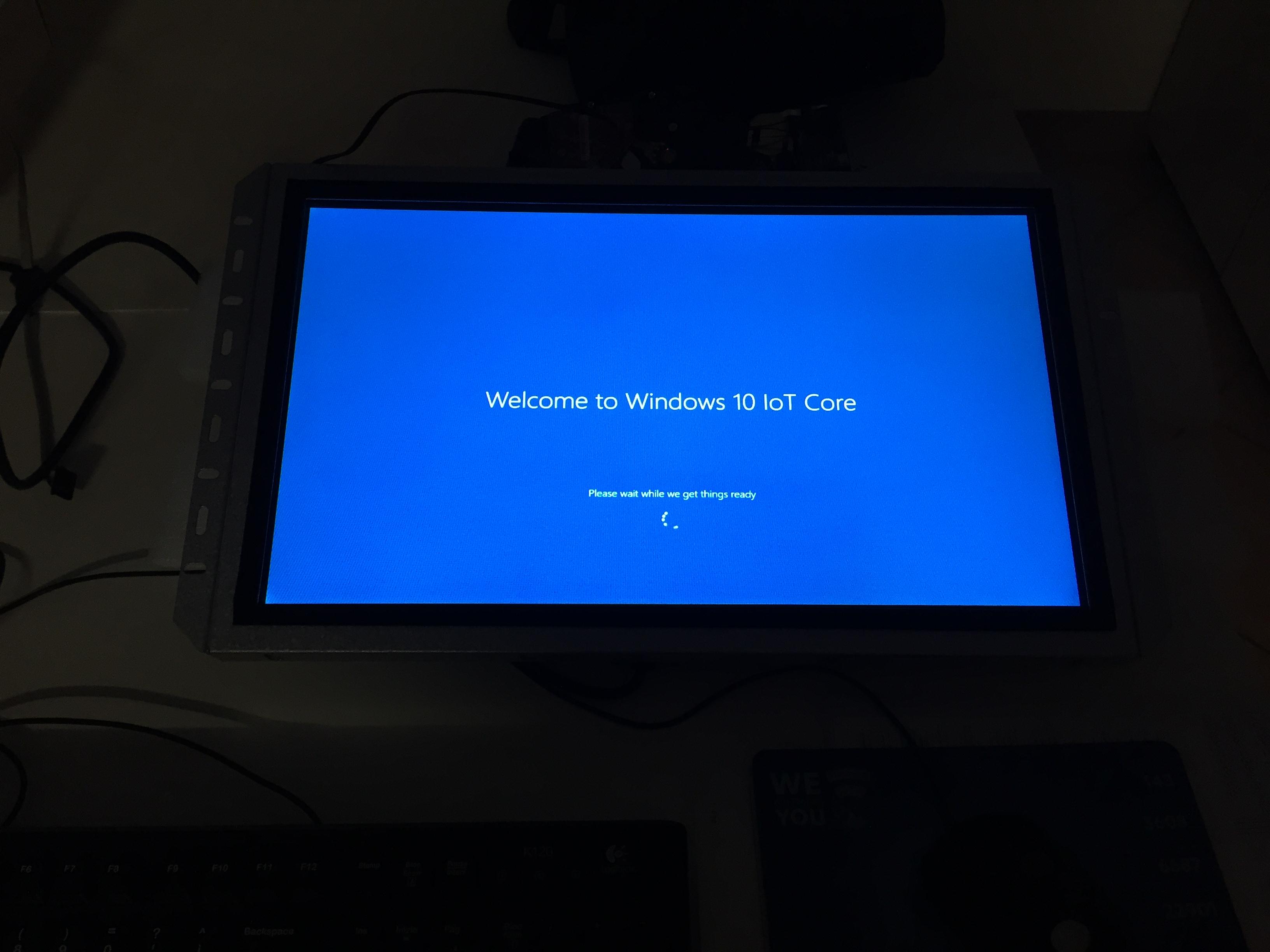 Avvio di Windows 10 IoT su Raspberry Pi 2
