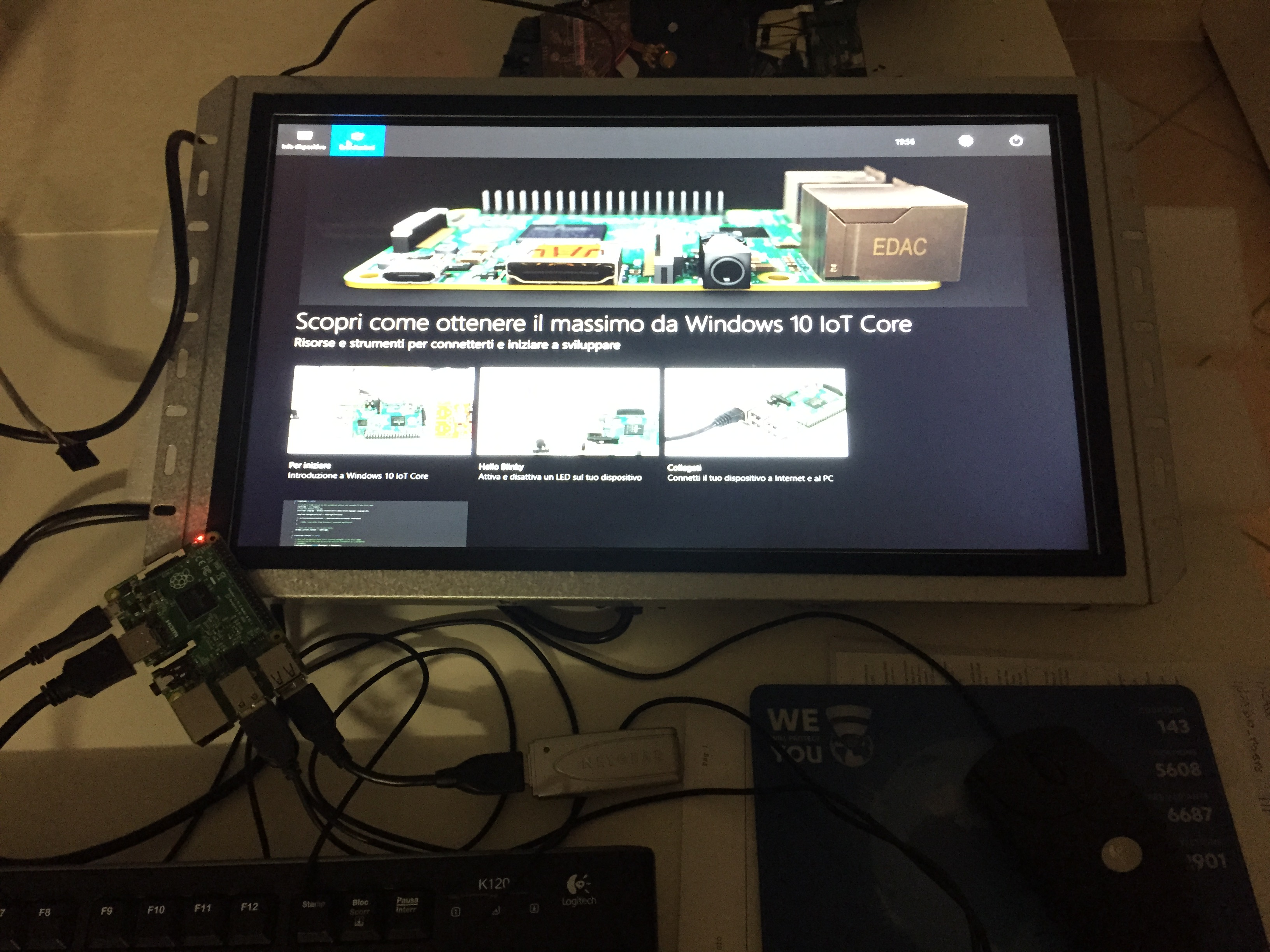 Windows 10 IoT su Raspberry Pi 2